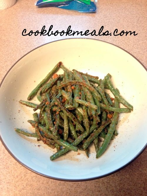 Parmesan Roasted Green Beans | Recipes | Pinterest