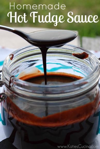 Homemade Hot Fudge Sauce - Katie's Cucina | Katie's Cucina
