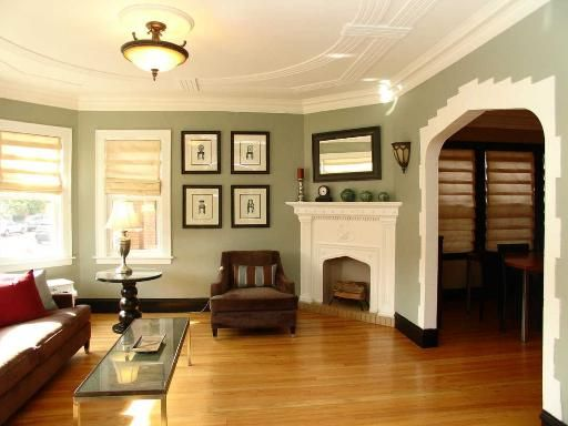 Pin by american bungalow magazine on mission style living for Living room 1920 s