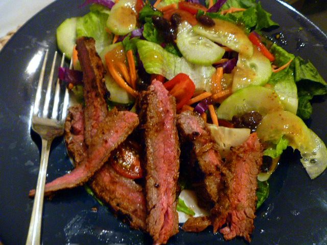 ... Southern: Labor Day Ideas: Chipotle Steak Salad with Fig Vinaigrette