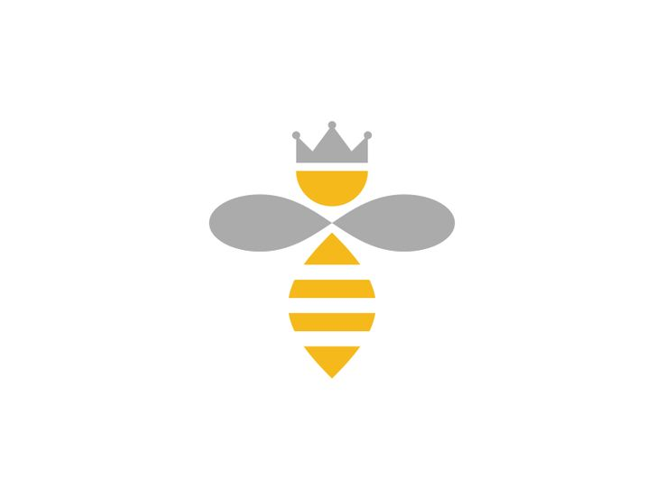 Queen Bee Logo be Sean FarrellQueen Bee Logo