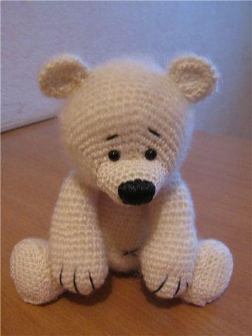 Медведь игрушка связать