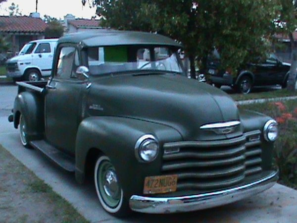 Old school Chevy 3100 truck. | Old Trucks & Cars | Pinterest