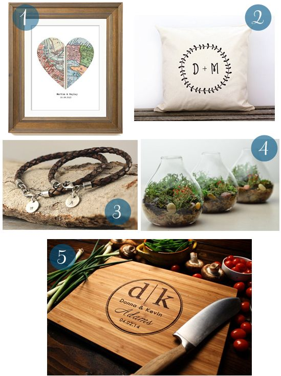 5 Year Wedding Gift : Wedding Anniversary Gifts: Wedding Anniversary Gift Guide