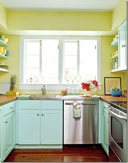 Blue And Yellow Kitchen House Stuff Pinterest