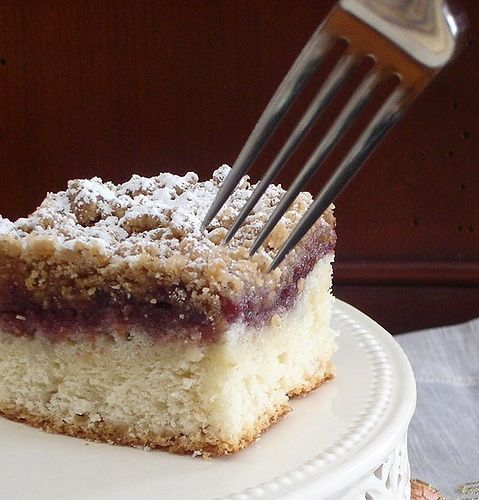Raspberry Crumb Cake | eat, drink, and be merry | Pinterest