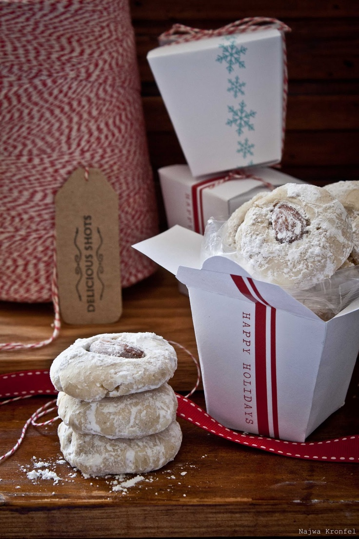 Take out gift boxes in PDF format.  #christmas cookies #gift cards