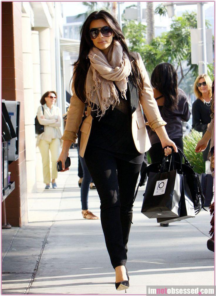 Kim Kardashian Street Style My Style Pinboard Pinterest