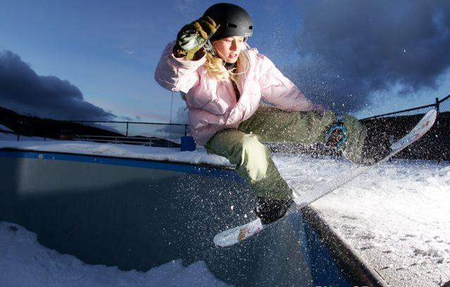 Chanelle SladicsChanelle Sladics Snowboarding