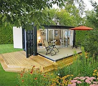 Pin by toni may on cottage ideas pinterest - Ecopod container home ...