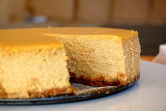 pumpkin cheesecake | Deliciousness | Pinterest