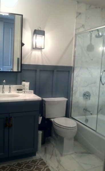 floor to ceiling board and batten bathroom - Google Search