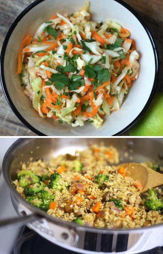 cabbage quinoa | Quinoa Queen | Pinterest