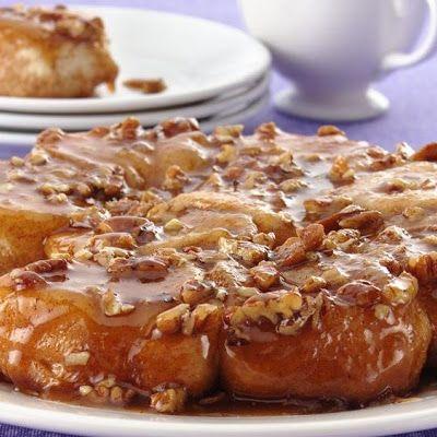 Easy Caramel Sticky Buns | Pastries | Pinterest