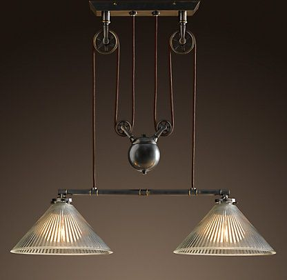 ceiling restoration hardware cool lighting pinterest