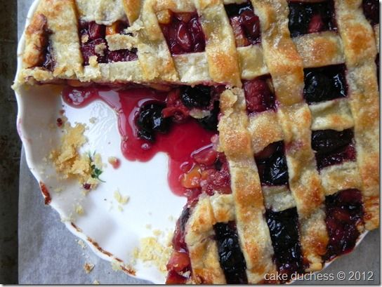 Sweet Cherry Pie | Project #28: Spring Cakes & Pies | Pinterest