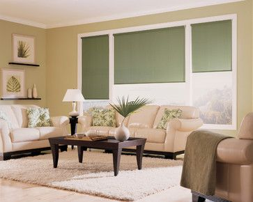 Pin by accent window fashions llc on hunter douglas for Casual curtain ideas for living room