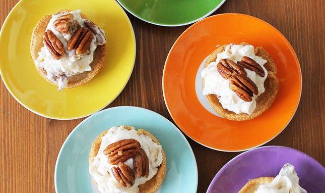 Spike Your Sweets: Bourbon Pecan Pie Ice Cream
