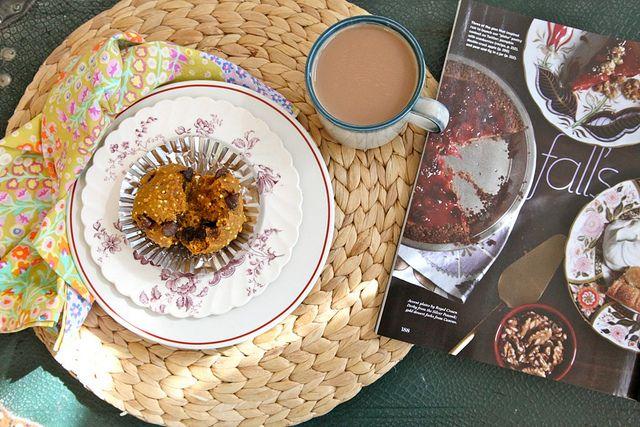Pumpkin, Millet, and Chocolate Muffins | Muffins | Pinterest