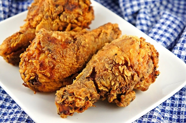 Extra Crispy Spicy Fried Chicken ~ The Kitchen Life of a Navy Wife