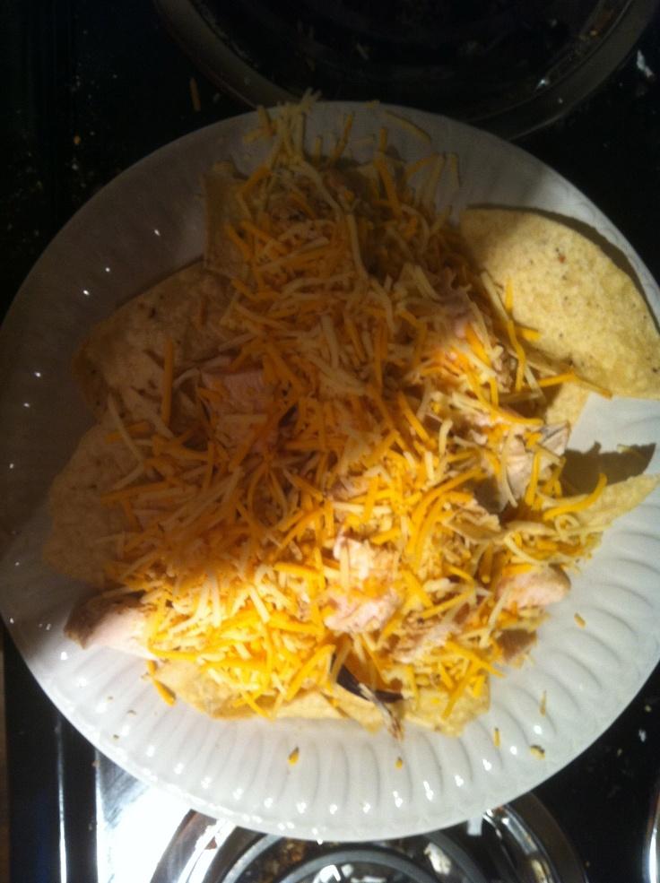 Simple caribbean jerk chicken nachos. Marinate 2 chicken breasts for 8 ...