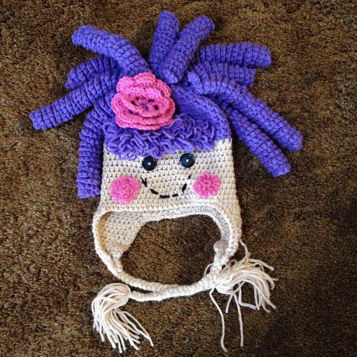 Free Crochet Pattern For Lalaloopsy Hat : Lalaloopsy crochet hat! Crochet Pinterest