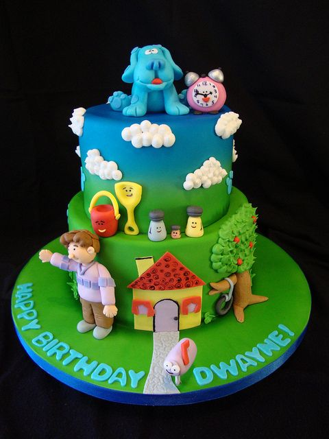 blues clues cakes | Blues Clues Cake #2 | Flickr - Photo Sharing!