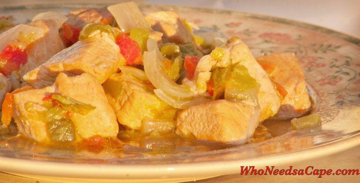 Crockpot Green Chile Pork Stew   Recipe