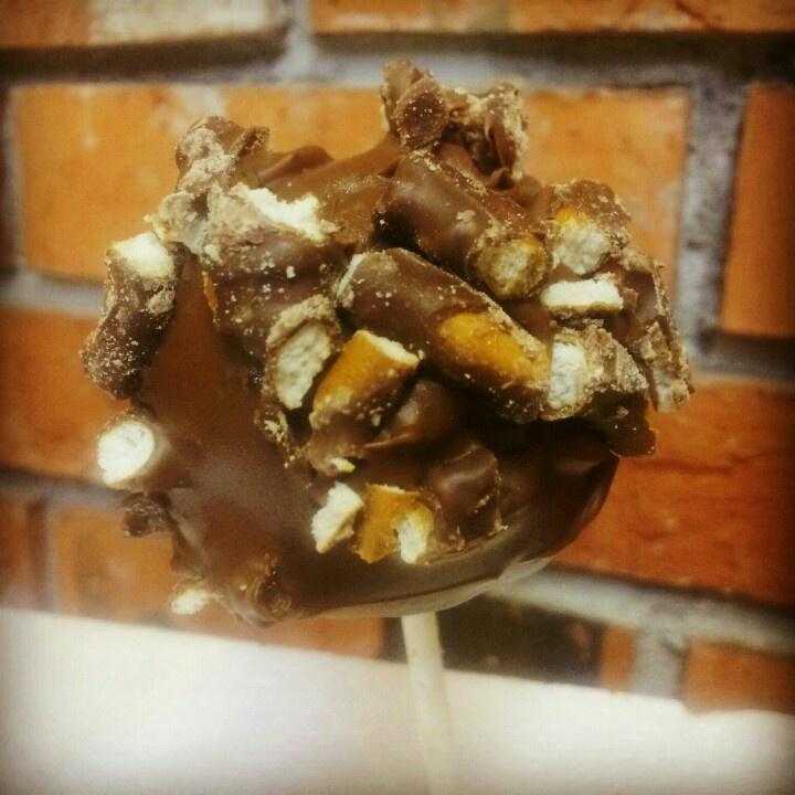 Chocolate Covered Pretzel Cheesecake Pops... Www.Anniemaescheesecakes ...
