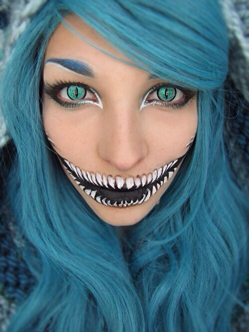 Pinterest: Discover and save creative ideas - Awesome Halloween Makeup