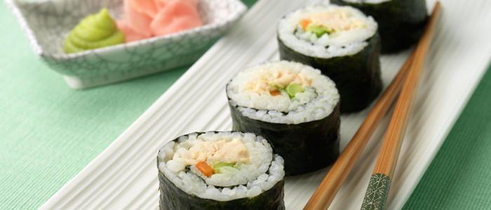Chicken Sushi   Sushi   Pinterest