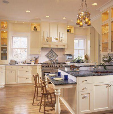Beautiful kitchen design for the home pinterest for Pretty kitchen decor