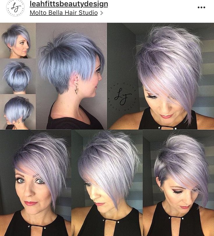 Blonde and black hair color styles pictures