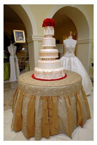 Tapestry Linens LLC Wedding Cake Table Linens