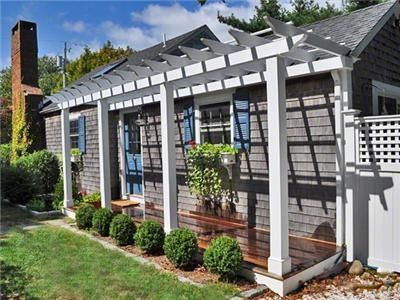 Front Porch Pergola Maybe New House Pinterest