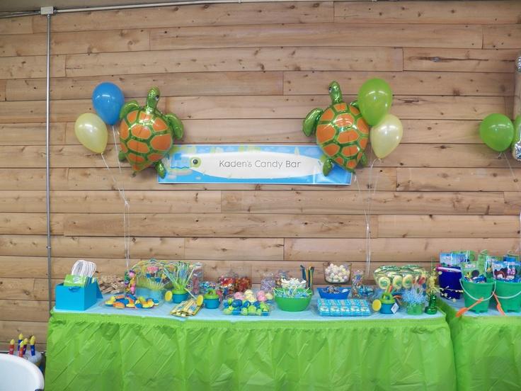 turtle theme birthday party ideas pinterest