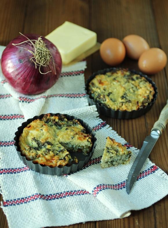 crustless quinoa + kale quiche | yumm :) | Pinterest