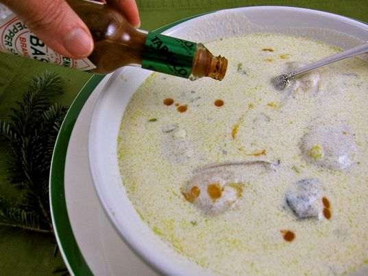 My dad's oyster stew | soup | Pinterest