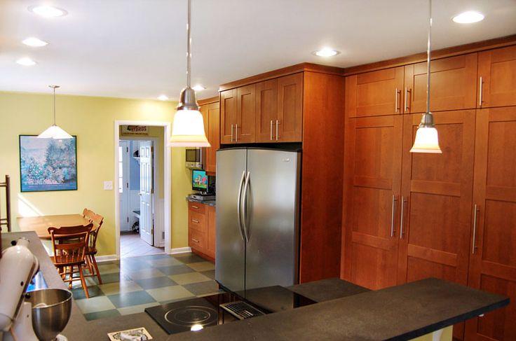 Flat Cabinet Kitchen Flat Front Kitchen Cabinets Photo Gallery