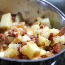 Warm Potato Salad With Andouille