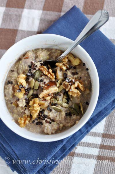 Slow Cooker Millet Porridge | Christine Blubaugh