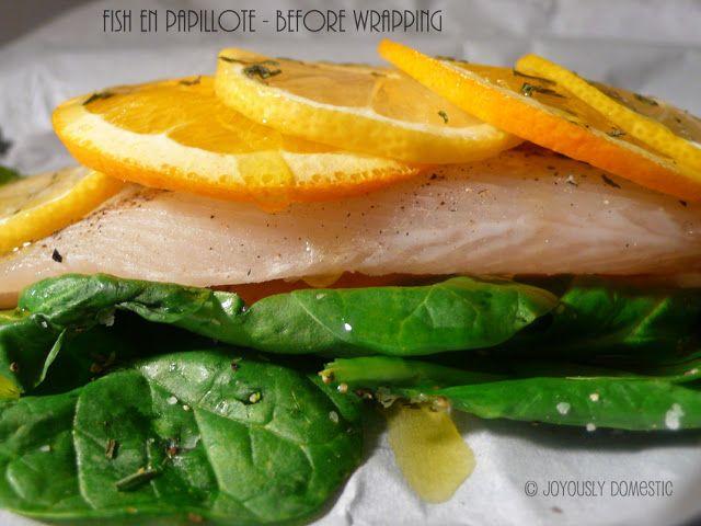 Fish In Parchment Recipe — Dishmaps
