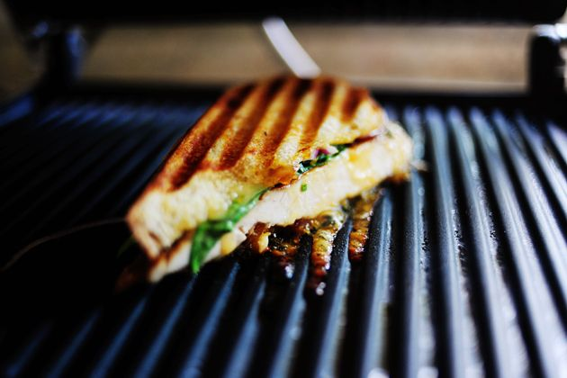 Grilled Chicken Sandwich with Apricot Sauce   Recipe
