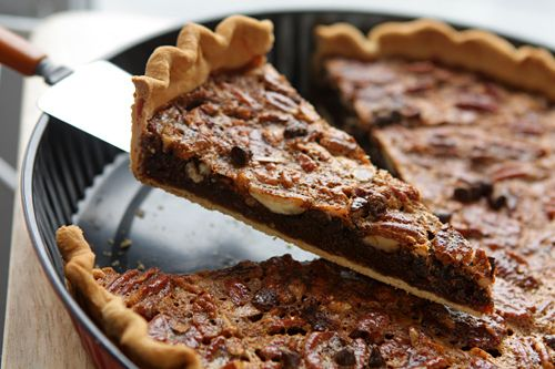 Chocolate Pecan Pie from David Lebovitz