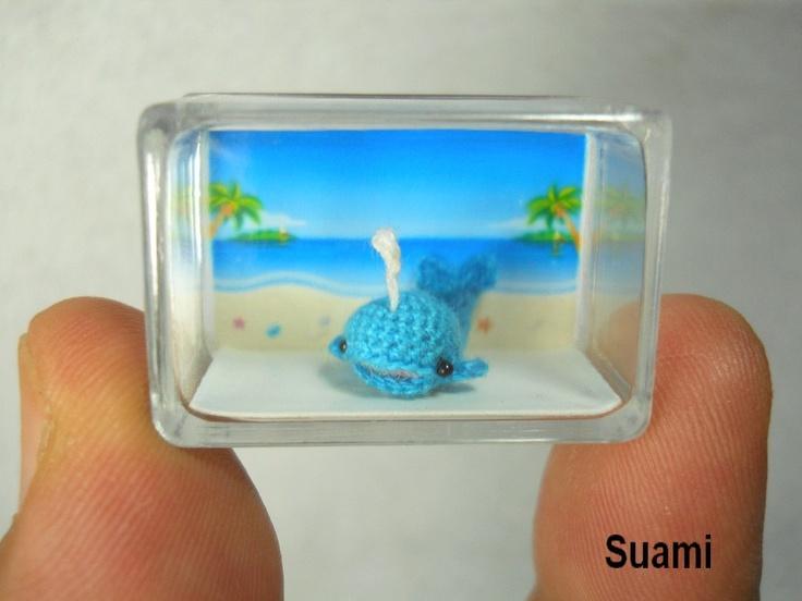Mini Amigurumi Whale : Pinterest: Discover and save creative ideas