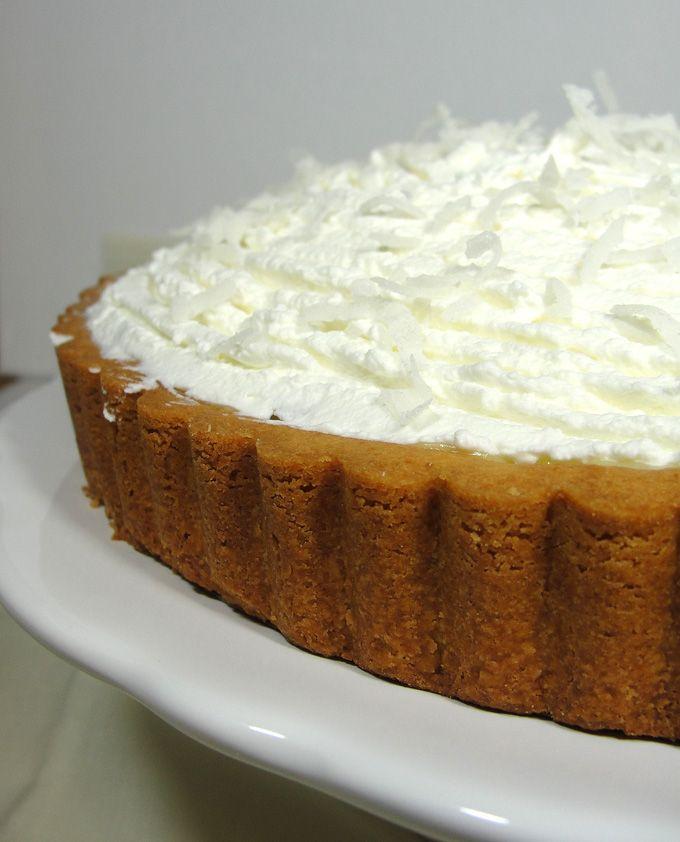 Toasted Coconut Custard Tart | PIES AND TARTS | Pinterest