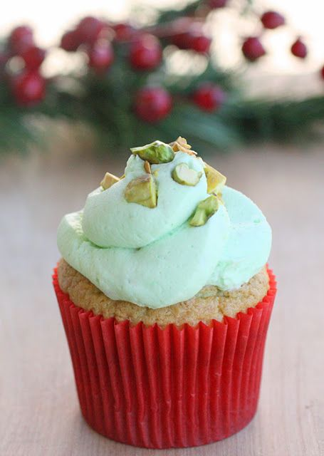 Pistachio Cupcakes | The Girl Who Ate Everything