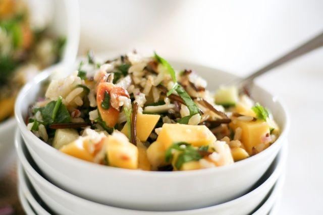 Mango Cucumber Rice Salad | Recipe