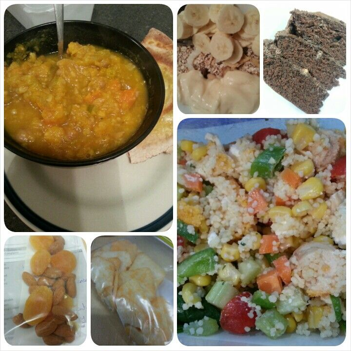 Snack: 15 almonds, 4 dried apricots, 25g rice crackers Lunch: chicken ...
