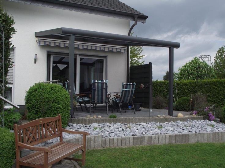 pin by kunststoffhandel rexin gmbh on kundenbilder alu terrassen berd. Black Bedroom Furniture Sets. Home Design Ideas